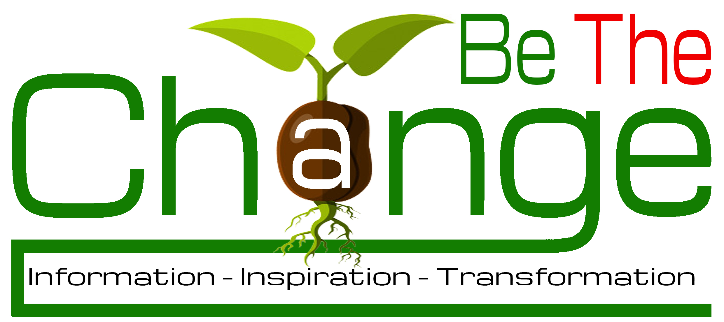 LOGO BE THE CHANGE